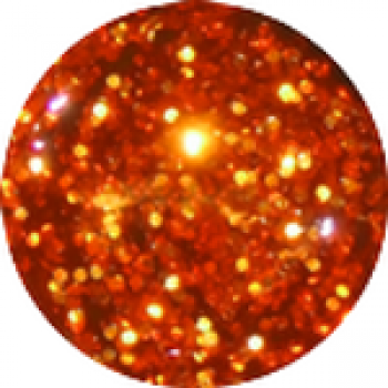 "UV Glitter-Gel ""Extrem"" 5g - Orange"