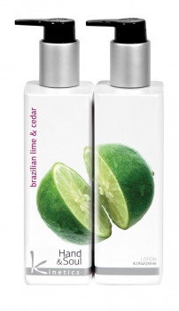 Hand und Body Lotion 250ml Brazilian Lime & Cedar