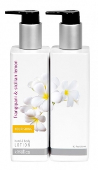 Hand und Body Lotion 250ml Frangipani & Sicilian Lemon