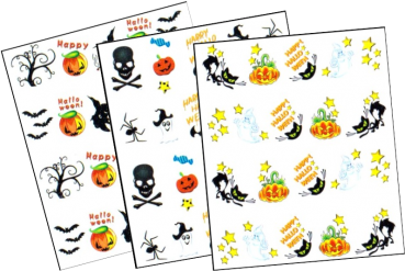 Halloween Tattoo Sticker
