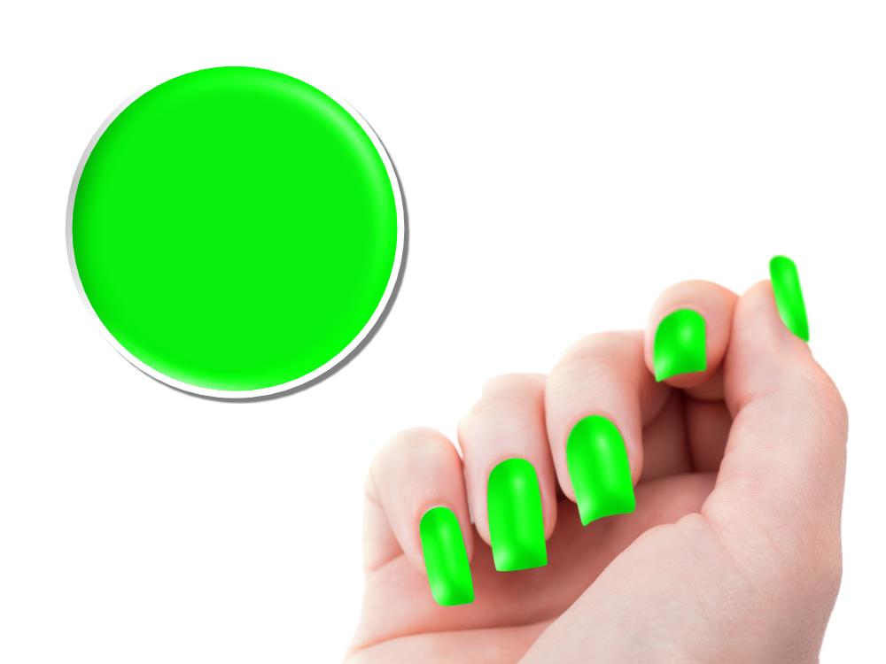 Ndc Nail Design Center Uv Color Gel Neon 5g Neon Green